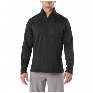 Bluza 5.11 Recon Half Zip Fleece True Black